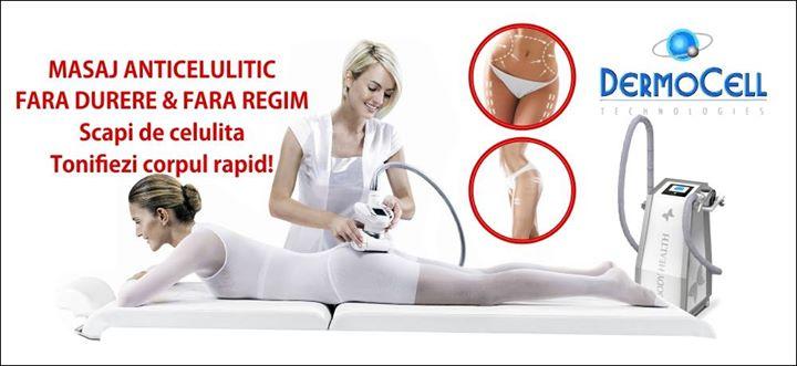masaj anticelulitic dermocell